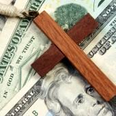 cross and money
