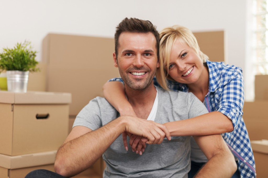couple enjoying to spend time together