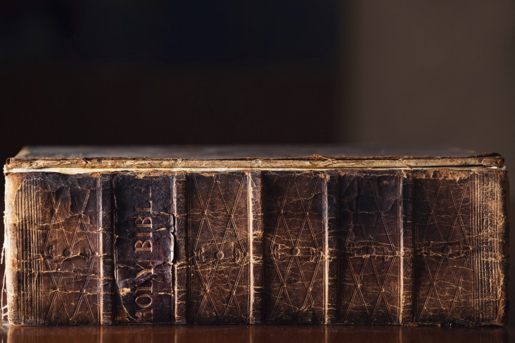 150 year old Holy Bible