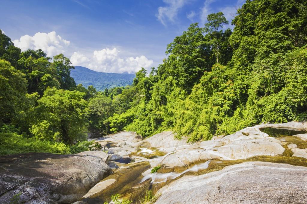 Karome Waterfall at thailand