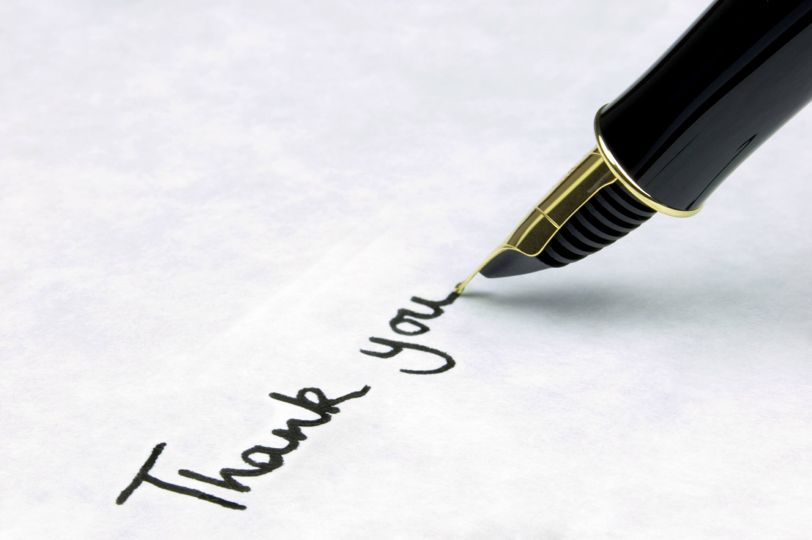 5 tips to help you write a thank you letter