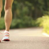 Runner athlete legs