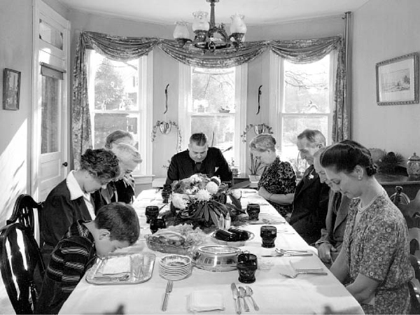 Meal time prayers