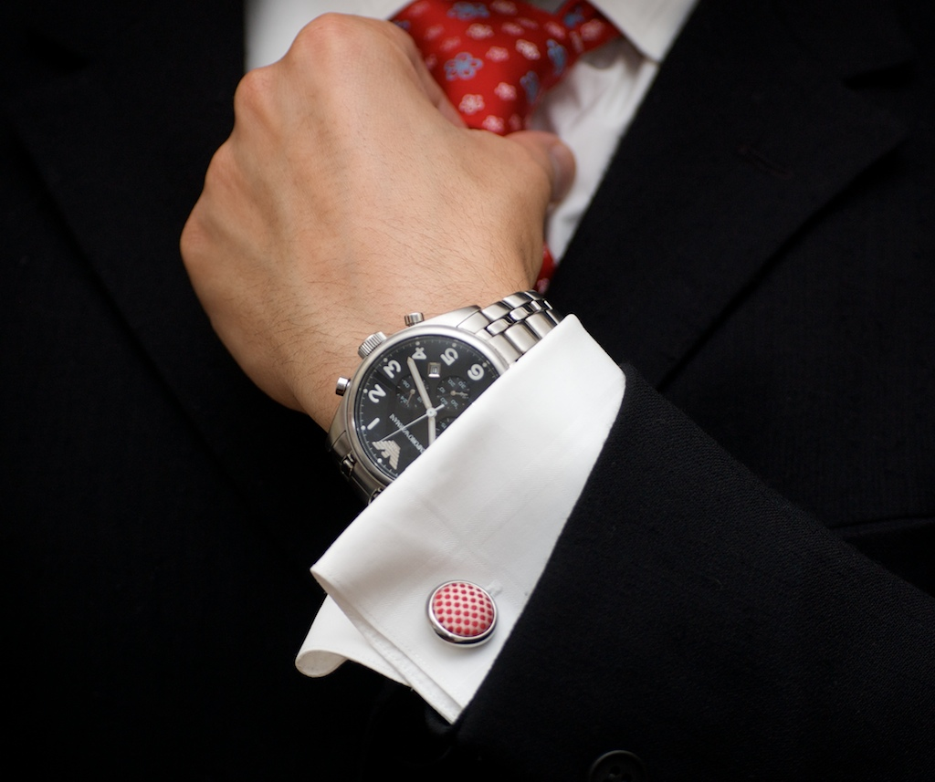 Business man with watch