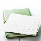 Calendar and Notebook