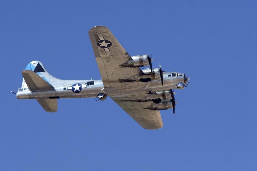 A B-17 Bomber military jet