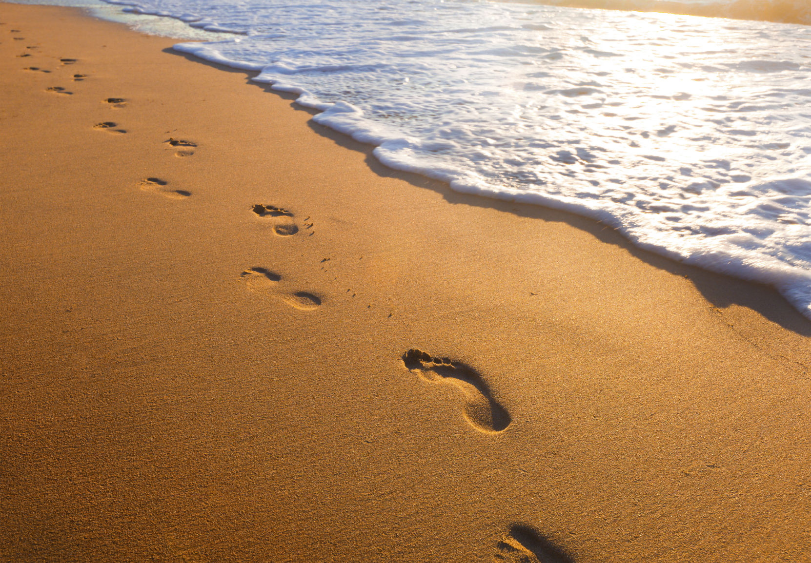 picture regarding Footprints in the Sand Poem Printable Version identify A fresh acquire upon the outdated poem, Footprints within just the Sand Religion Radio