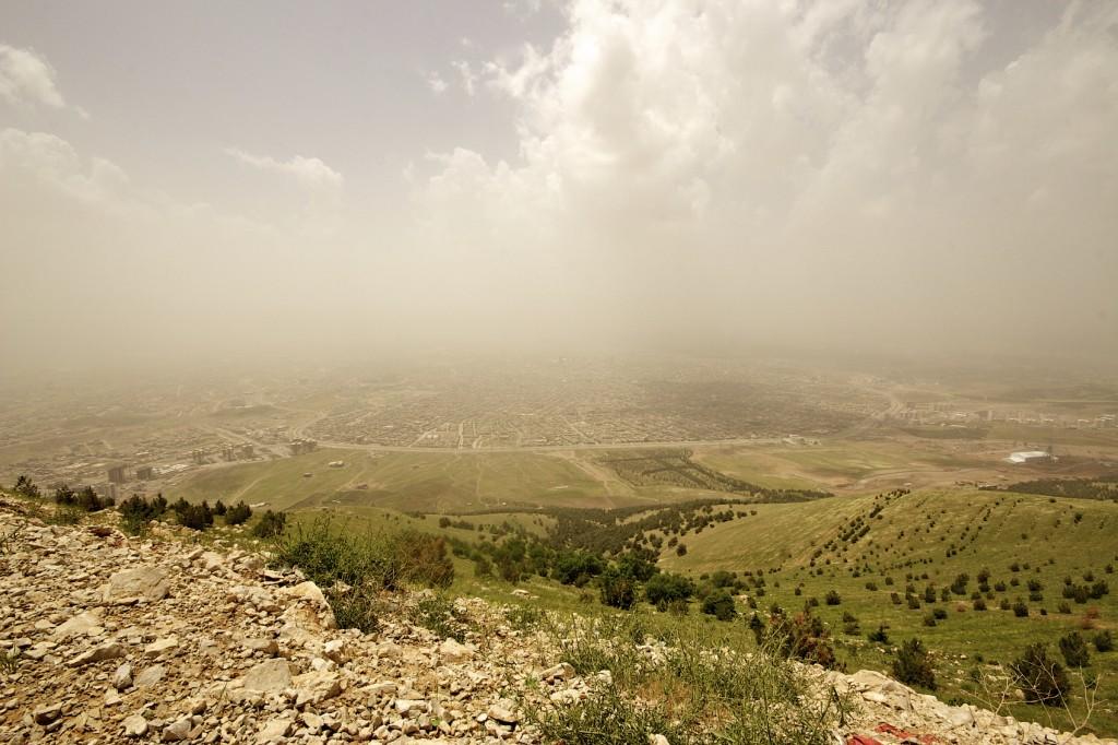 Sulaymaniyah in autonomous Kurdistan region of Iraq