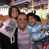 Saeed Abedini with children
