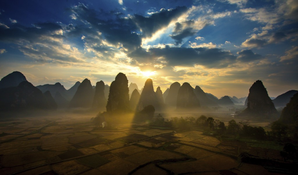 Guilin Scenery in Guilin China