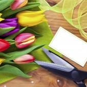 Florist flower bouquet still life