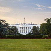 The iconic residence of the sitting President of the United States.