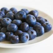 fresh tasty blueberries