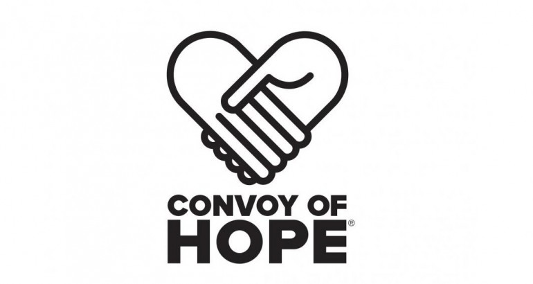Convoy of Hope Truck Justice Convoy of Hope