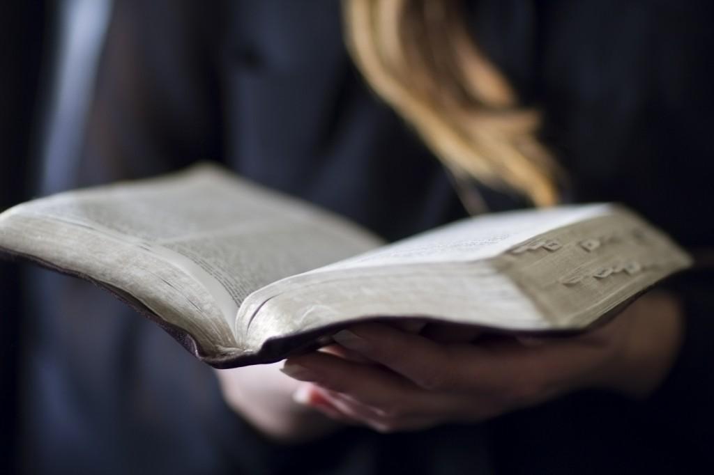 Woman Read Bible