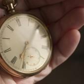 pocket watch as used by my grandad
