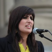 Pastor Saeed Abedini's wife, Naghmeh,
