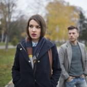 Couple not talking after argumen