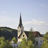 Church of St. Rupert in Krsko. Slovenia
