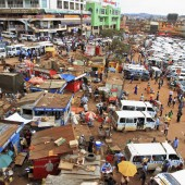 Busy Kampala Uganda