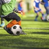 Soccer training for children