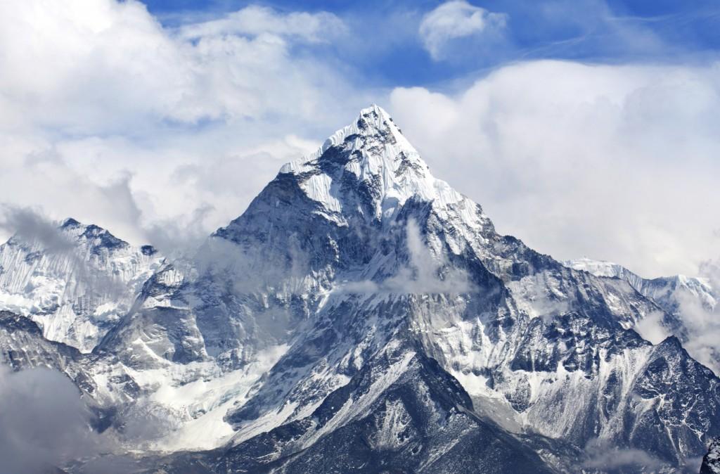 Ama Dablam Mount in the Nepal Himalaya