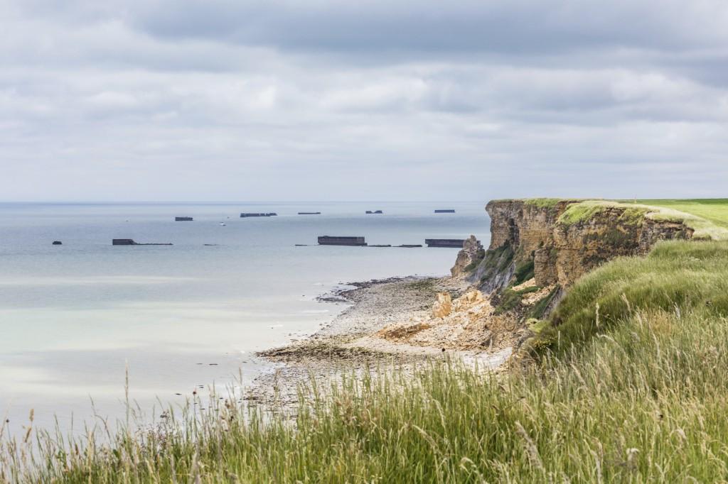 D-Day coastline – Normandy, France