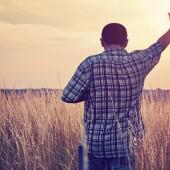 Hand to Heaven - Man prays