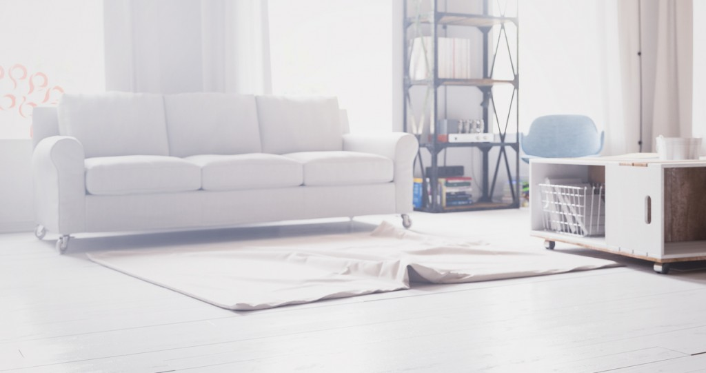 Luxury modern Living room Interior design(3d render)