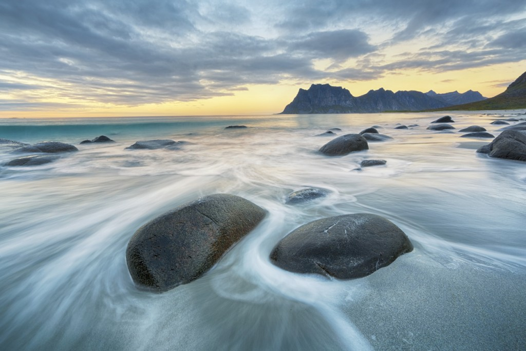Lofoten is an archipelago and a traditional district in the county of Nordland,