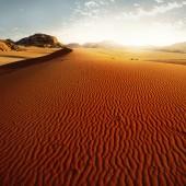 Sand dune at sunrise