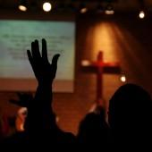 Praise event in a local Church
