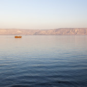 Sea of Galilee. Lower Galilee. Israel.