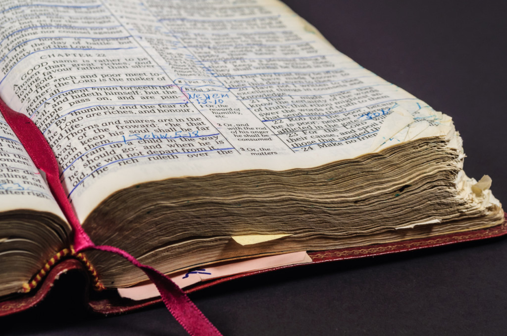 Bible Worn From Reading