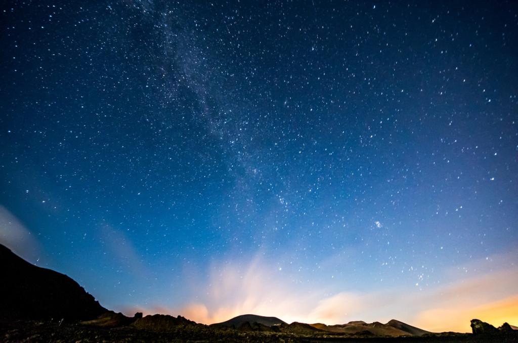 Milky way from Lanzarote (Canary Islands). Spain