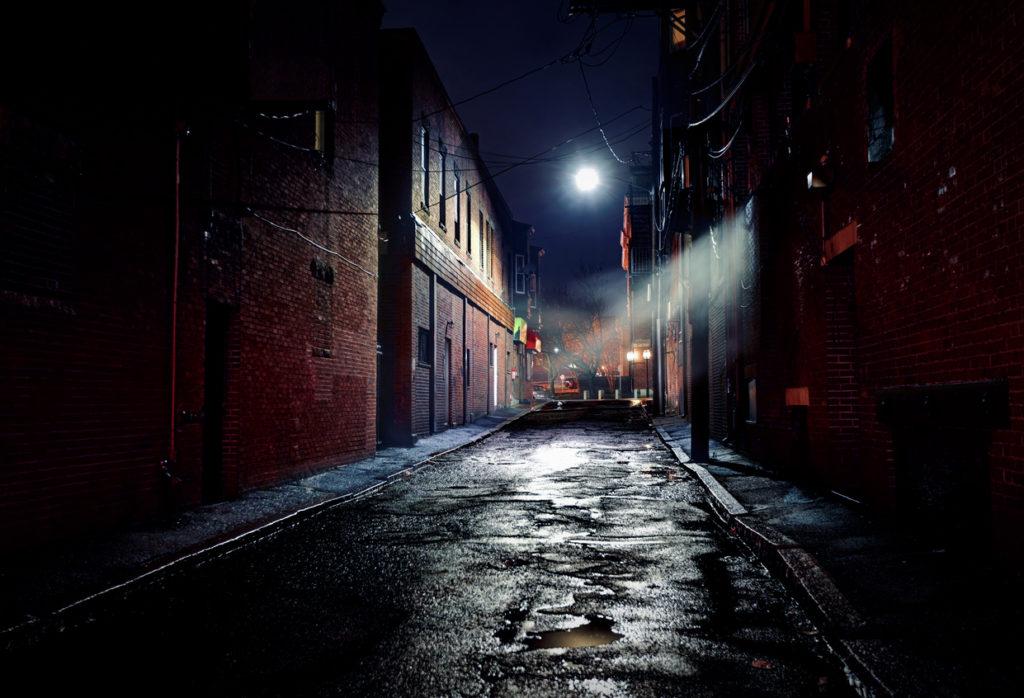 Dark Gritty Alleyway