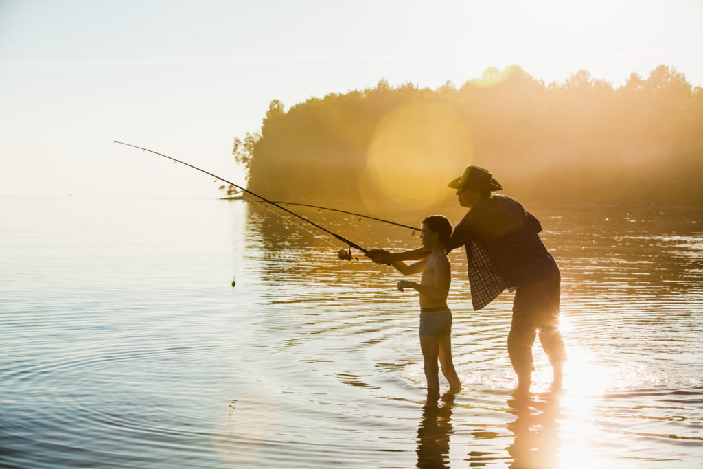 Fisherman and son