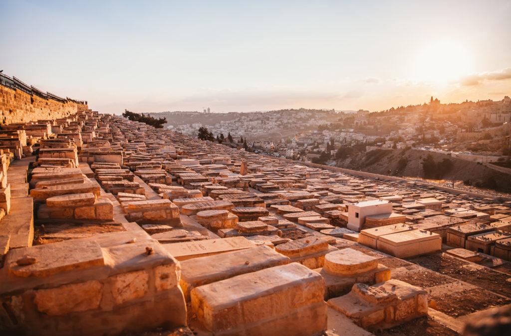 The panoramic view of Jerusalem,Israel.