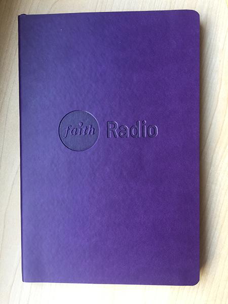 Faith Radio Moleskine Journal