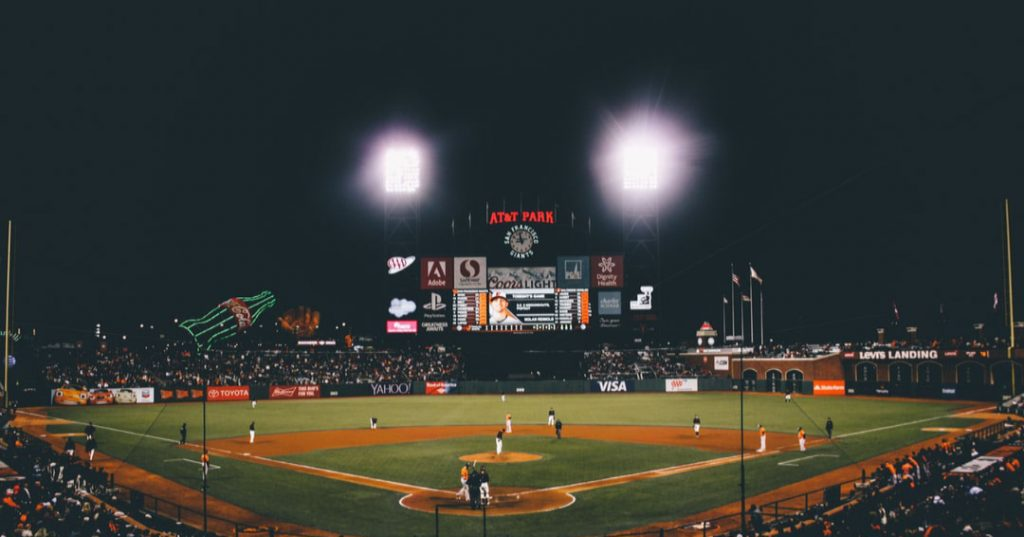 AT&T Park at Night
