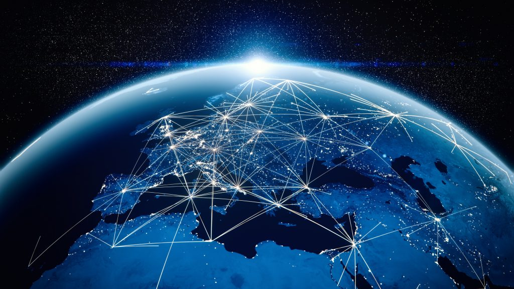 Global communications image