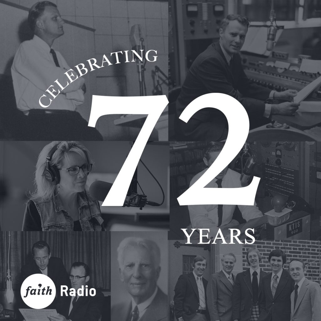72 years of Faith Radio
